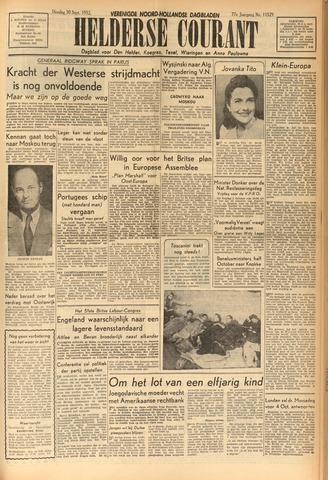 Heldersche Courant 1952-09-30