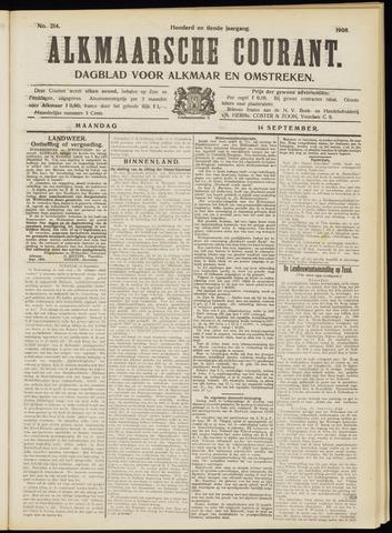 Alkmaarsche Courant 1908-09-14