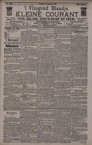 Vliegend blaadje : nieuws- en advertentiebode voor Den Helder 1896-12-12