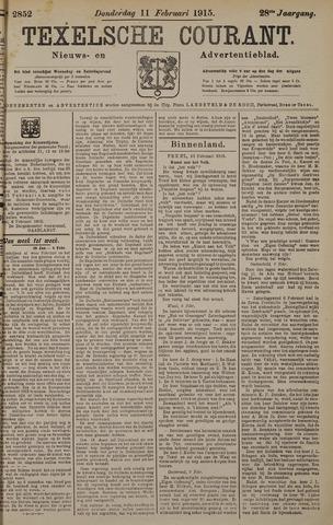 Texelsche Courant 1915-02-11