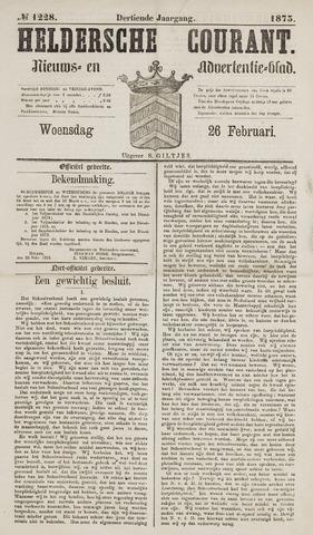 Heldersche Courant 1873-02-26