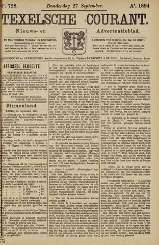 Texelsche Courant 1894-09-27