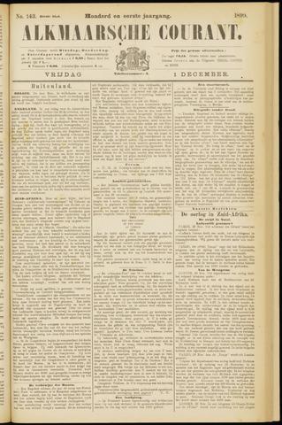 Alkmaarsche Courant 1899-12-01