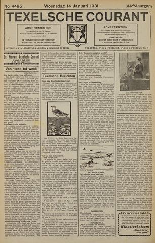 Texelsche Courant 1931-01-14