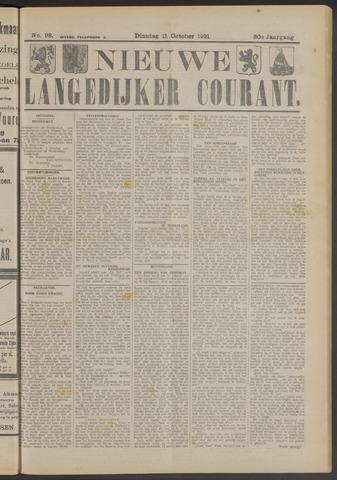 Nieuwe Langedijker Courant 1921-10-11