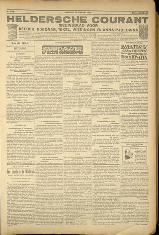 Heldersche Courant 1927-01-18