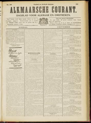 Alkmaarsche Courant 1911-09-05