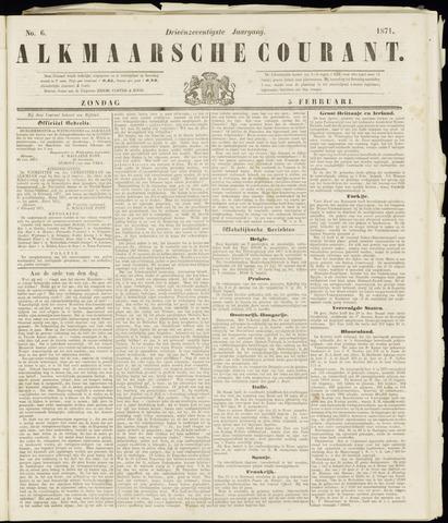 Alkmaarsche Courant 1871-02-05