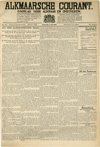 Alkmaarsche Courant 1934-07-07