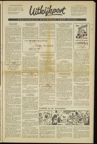 Uitkijkpost : nieuwsblad voor Heiloo e.o. 1961-02-09