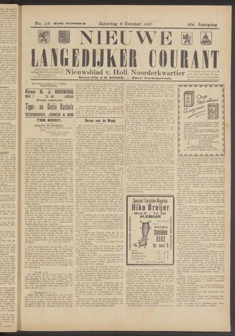 Nieuwe Langedijker Courant 1927-10-08