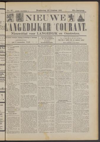 Nieuwe Langedijker Courant 1921-10-20