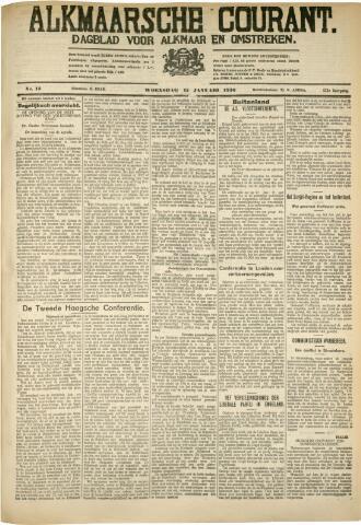 Alkmaarsche Courant 1930-01-15
