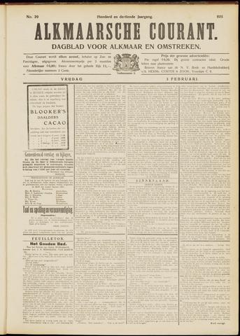 Alkmaarsche Courant 1911-02-03