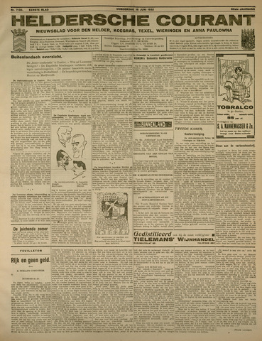 Heldersche Courant 1932-06-16