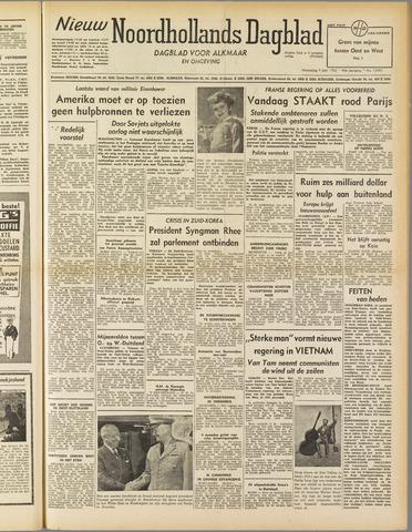 Nieuw Noordhollandsch Dagblad : voor Alkmaar en omgeving 1952-06-04