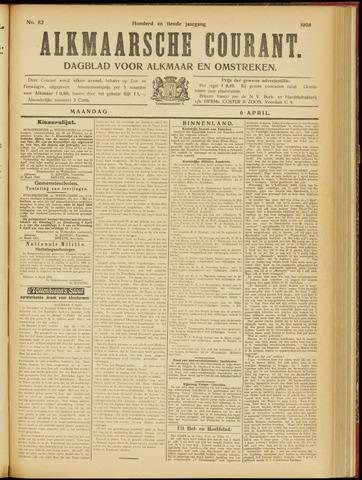Alkmaarsche Courant 1908-04-06
