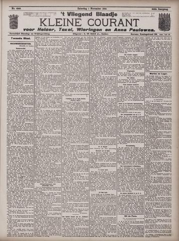 Vliegend blaadje : nieuws- en advertentiebode voor Den Helder 1913-11-01