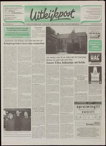 Uitkijkpost : nieuwsblad voor Heiloo e.o. 2001-12-21