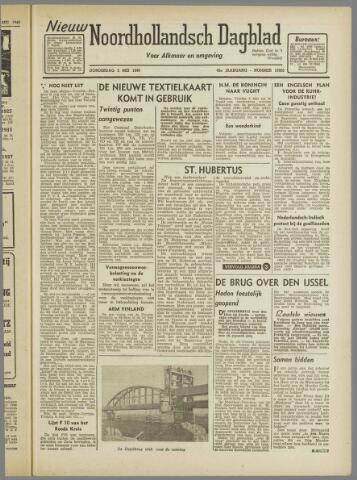 Nieuw Noordhollandsch Dagblad : voor Alkmaar en omgeving 1946-05-02