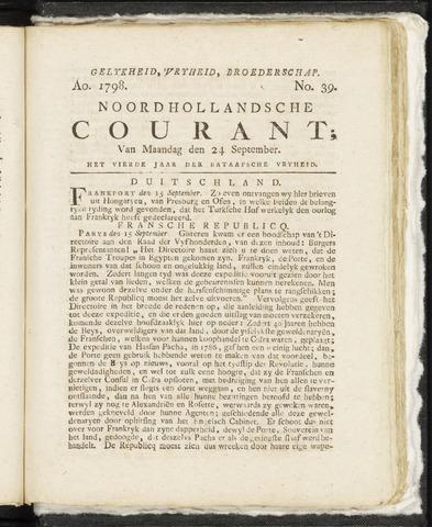 Noordhollandsche Courant 1798-09-24