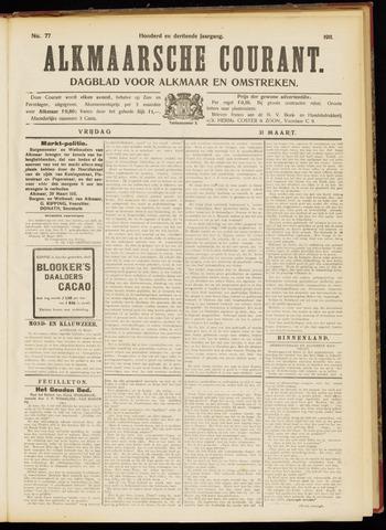 Alkmaarsche Courant 1911-03-31