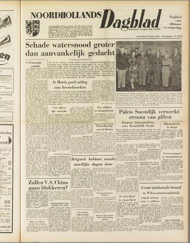 Noordhollands Dagblad : dagblad voor Alkmaar en omgeving 1953-02-19