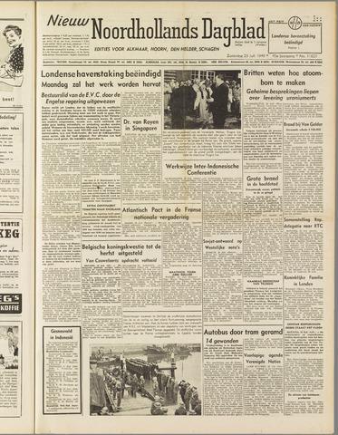 Nieuw Noordhollandsch Dagblad : voor Alkmaar en omgeving 1949-07-23