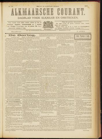 Alkmaarsche Courant 1917-04-02