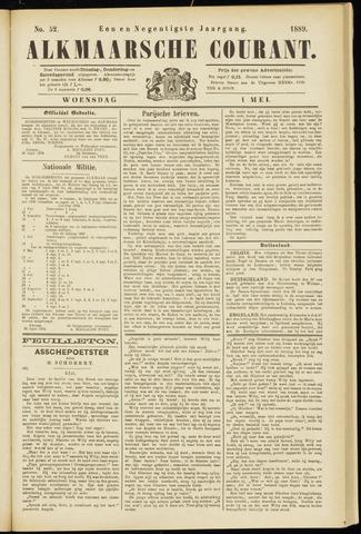 Alkmaarsche Courant 1889-05-01