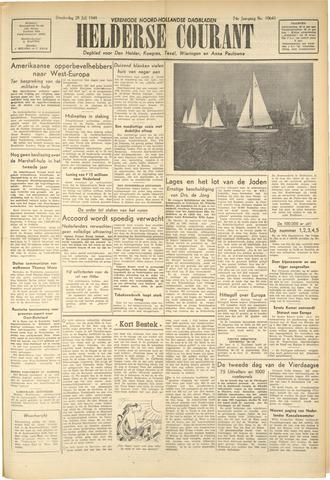 Heldersche Courant 1949-07-28