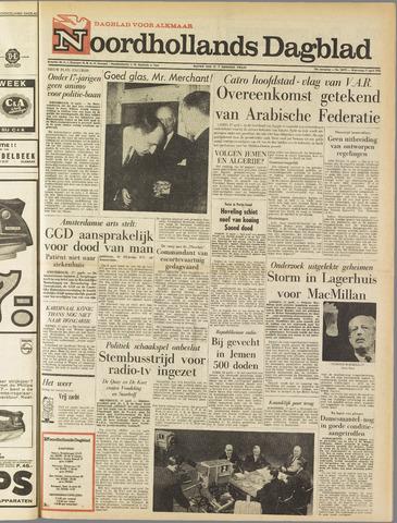 Noordhollands Dagblad : dagblad voor Alkmaar en omgeving 1963-04-17