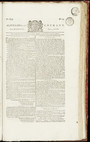 Alkmaarsche Courant 1833-06-03