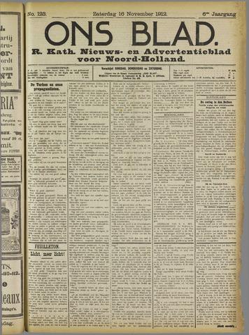Ons Blad : katholiek nieuwsblad voor N-H 1912-11-16