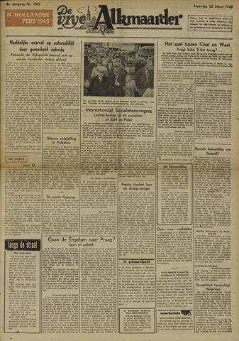 De Vrije Alkmaarder 1948-03-22