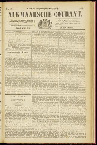 Alkmaarsche Courant 1896-11-18