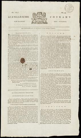 Alkmaarsche Courant 1817-11-03