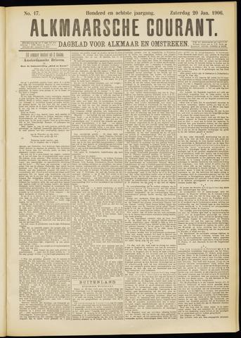 Alkmaarsche Courant 1906-01-20
