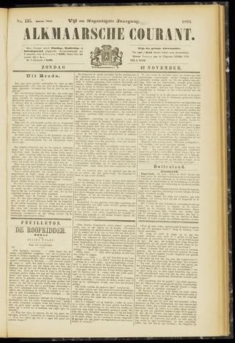 Alkmaarsche Courant 1893-11-12