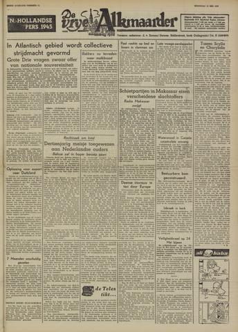 De Vrije Alkmaarder 1950-05-22