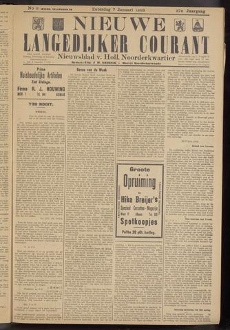 Nieuwe Langedijker Courant 1928-01-07