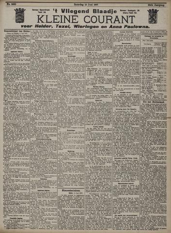 Vliegend blaadje : nieuws- en advertentiebode voor Den Helder 1907-06-15