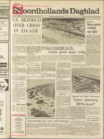 Noordhollands Dagblad : dagblad voor Alkmaar en omgeving 1964-05-19