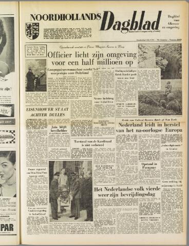 Noordhollands Dagblad : dagblad voor Alkmaar en omgeving 1954-05-06