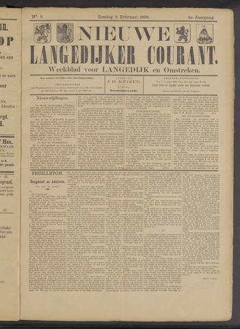Nieuwe Langedijker Courant 1896-02-02