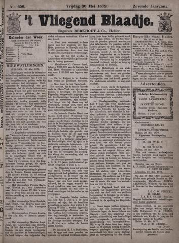 Vliegend blaadje : nieuws- en advertentiebode voor Den Helder 1879-05-30