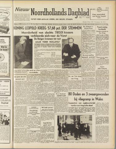 Nieuw Noordhollandsch Dagblad : voor Alkmaar en omgeving 1950-03-13