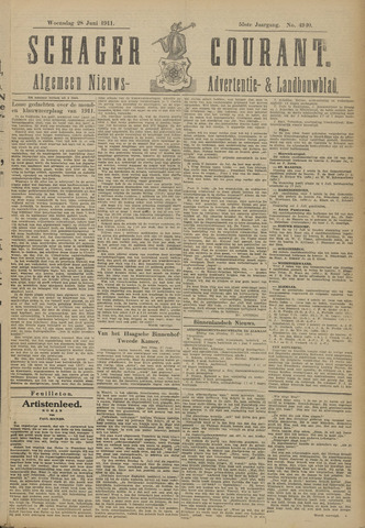 Schager Courant 1911-06-28