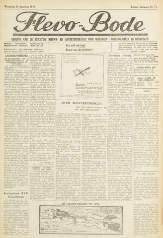 Flevo-bode: nieuwsblad voor Wieringen-Wieringermeer 1947-08-20