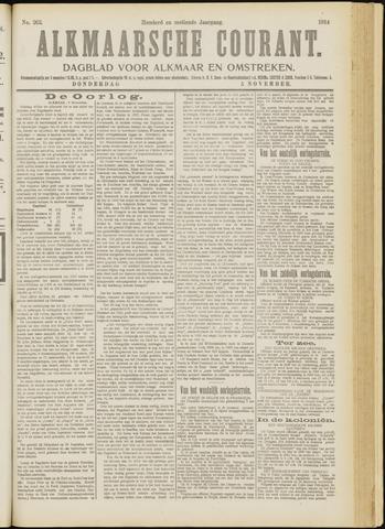 Alkmaarsche Courant 1914-11-05